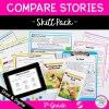 Compare & Contrast Fiction Stories Skill Pack - RL.5.9 - Print & Digital