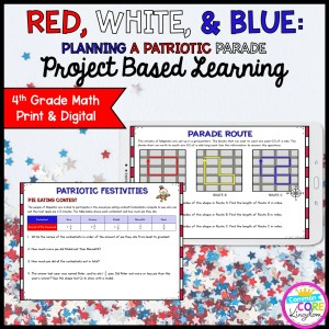 Patriotic Parade Project Learning - 4th - Printable & Google Distance Learning