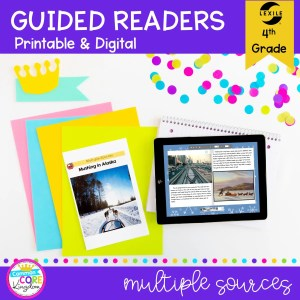 RI.5.7 Multiple Sources Guided Readers