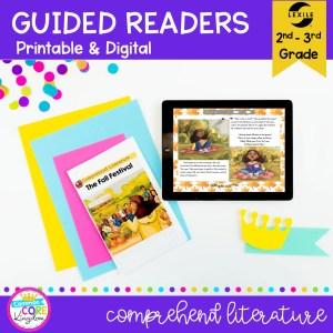 Guided Reading Packet: Comprehend Literature - 2nd & 3rd Grade RL.2.10 RL.3.10 - Printable & Digital