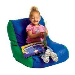 Toddler Bean Bag Chairs L Hitchcock Chair Discount School Supply High Back Beanbag Green Blue