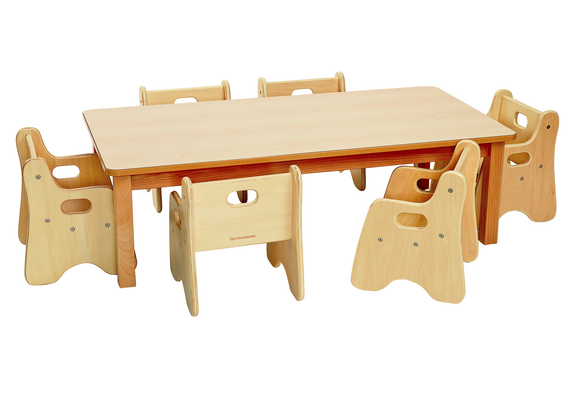 wooden chair with arms for toddler and table set wood discount school supply infant rectangle chairs 48