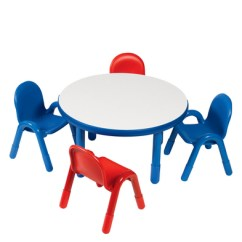 Royal Blue Chairs Hickory Chair Simone King Bed Discount School Supply Angeles Baseline Preschool Table And Set 36