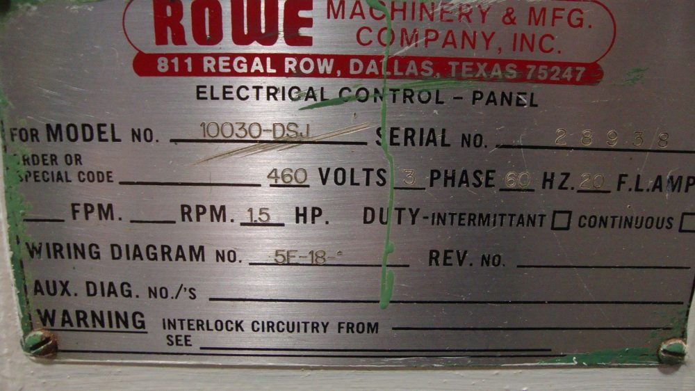 medium resolution of  clearing rowe 200 ton obs press line 17
