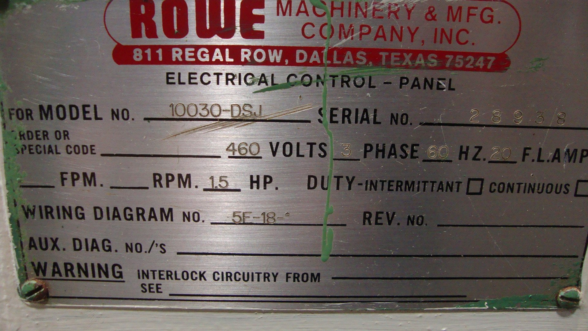 hight resolution of  clearing rowe 200 ton obs press line 17