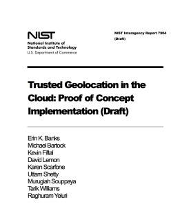 Geolocation NIST 7904