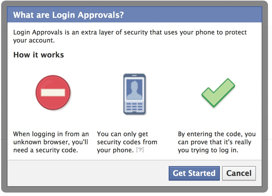 Facebook Security - common denial