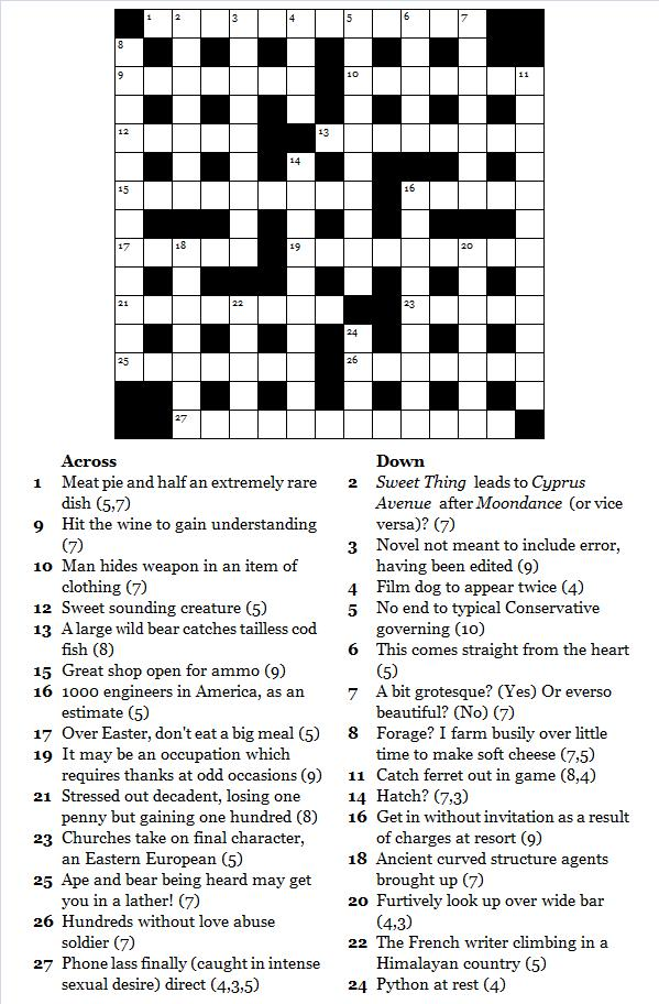 """Search Results for """"Free Printable Crossword Puzzles"""
