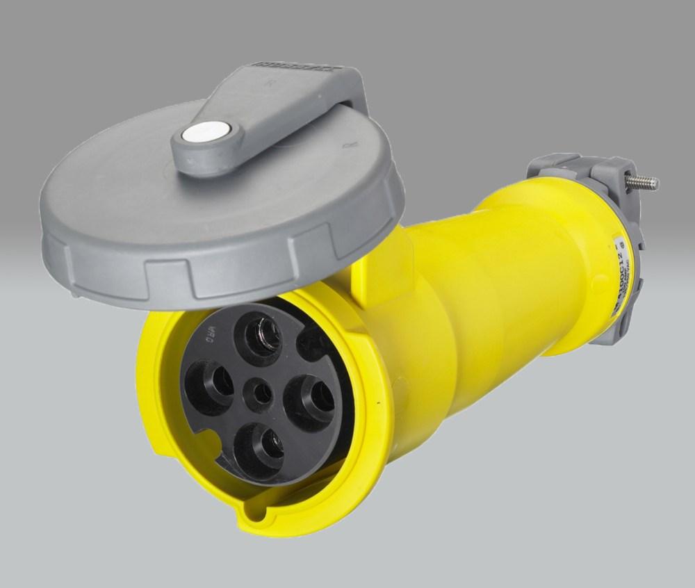 medium resolution of hubbell m4100c12 100 amp 125 250v female