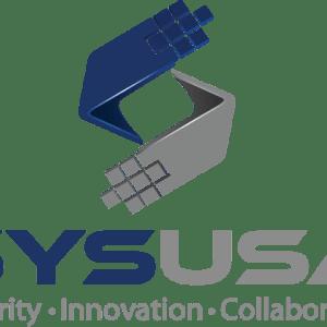 SYSUSA Logo - Security, Innovation, Collaboration.