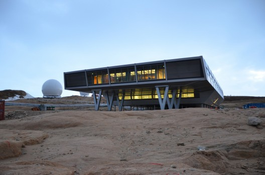 Bharati Research Antarctic research station.