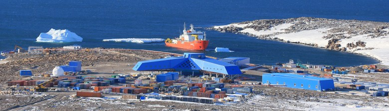 Jang Bogo Antarctic research station nearing construction completion. Image: Korea Polar Research Institute