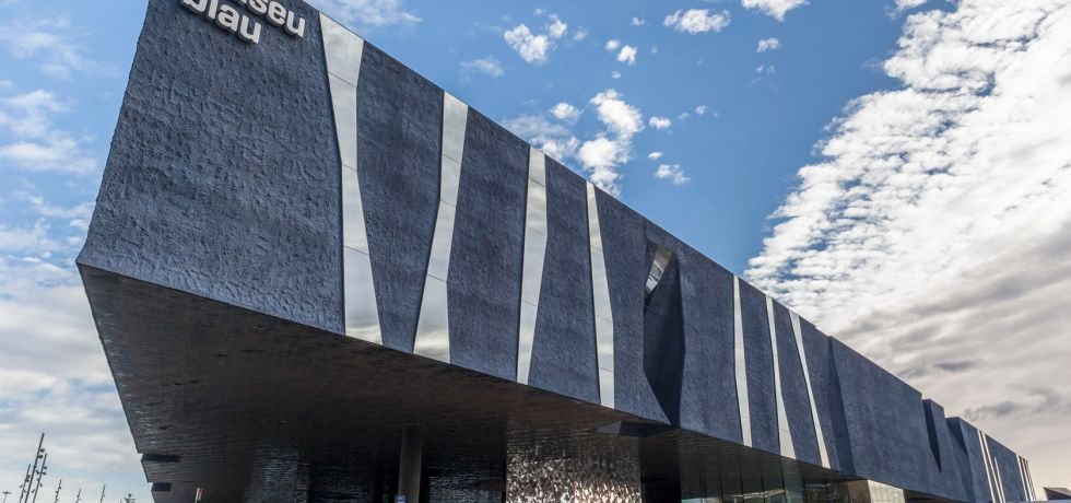 The Museu Blau in the Forum Building in Barcelona, Spain