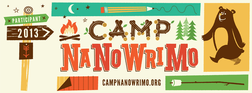 Camp NaNo Participant 2013 Facebook Cover