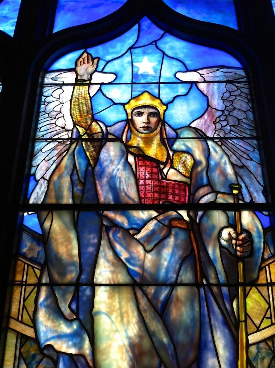 Angel of the Resurrection, 1904, Tiffany Studios, Indianapolis Museum of Art