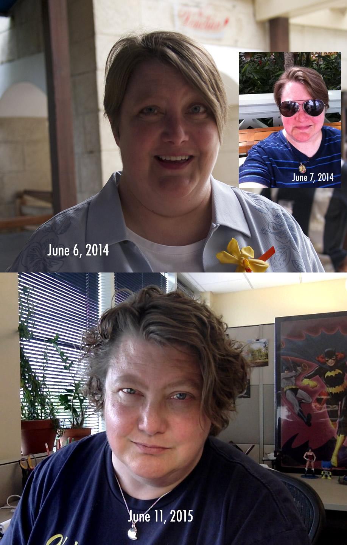 Selfies - June 2014 & June 2015