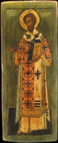 Icoană rusească a Sf. Ioan Gură de Aur