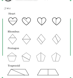Equal Shapes Worksheet   Printable Worksheets and Activities for Teachers [ 1810 x 1280 Pixel ]