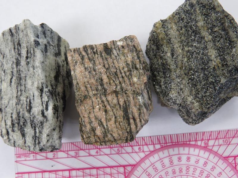 Basics Metamorphic Rocks Table