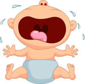 Image result for cartoon of kid having tantrum on airplane