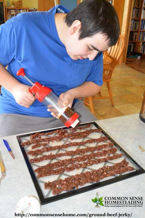 Ground Beef Jerky Recipe Without Gun : ground, jerky, recipe, without, Budget, Friendly, Ground, Jerky, Recipe
