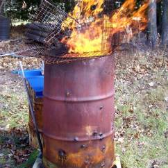 Stainless Steel Kitchen Trash Can American Standard Faucet Parts How To Make A Burn Barrel - Safe With Less Smoke