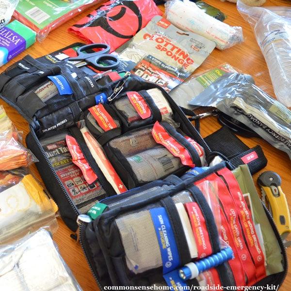 Roadside Emergency Kit First Aid Supplies