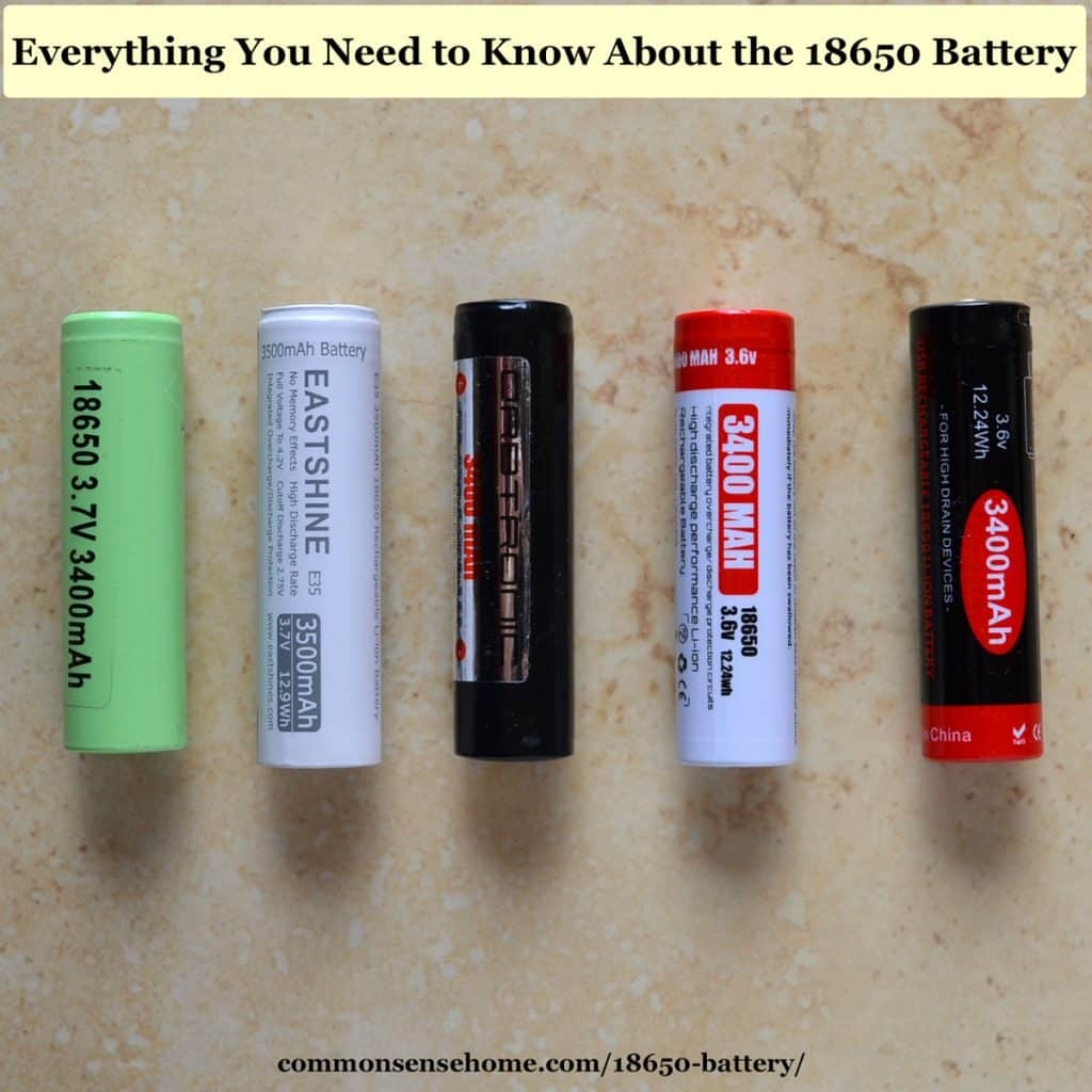 hight resolution of 18650 batteries