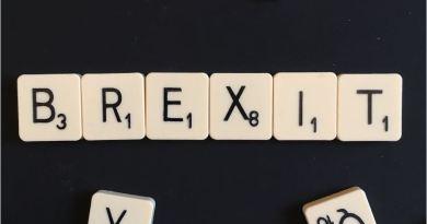 Brexit Scrabble Tiles