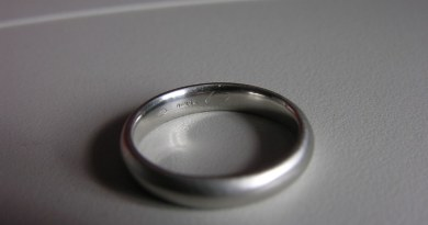a wedding ring