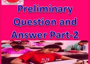36th BCS Preliminary Question and Answer Part-2