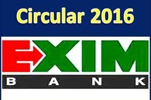 Exim Bank Job Circular 2016