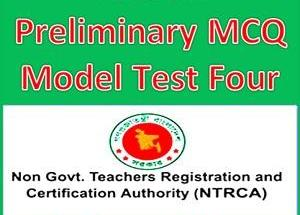 NTRCA Preliminary MCQ Model Test Four