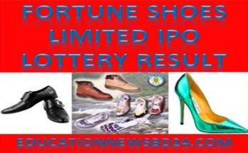 Fortune Shoes Limited IPO Lottery Result