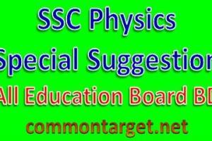 SSC Suggestion 2017 Physics
