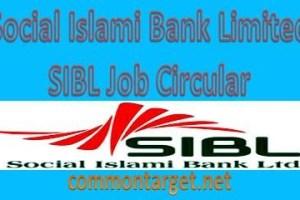 Social Islami Bank Limited Job Circular