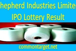 Shepherd Industries Limited IPO Lottery Result