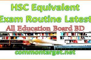 HSC DIBS Alim Vocational Same Standard Exam Routine