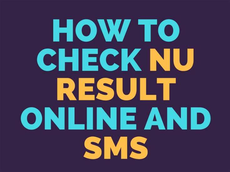 How-to-Check-NU-Result-Online