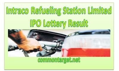 Intraco Refueling Station Limited IPO Lottery Result