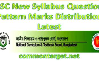 SSC All Subjects New Syllabus 2021