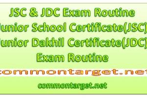 JDC Exam Routine 2019