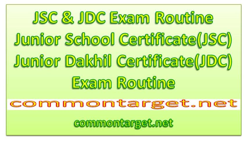 Junior School Certificate JSC Exam Routine