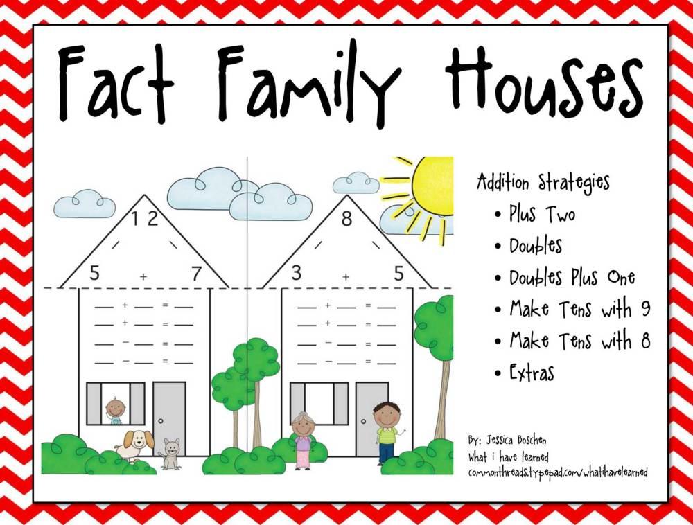 medium resolution of Fact Family Houses