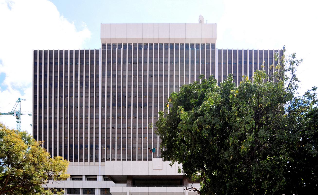 Zambian Government Complex. IMF Zambia