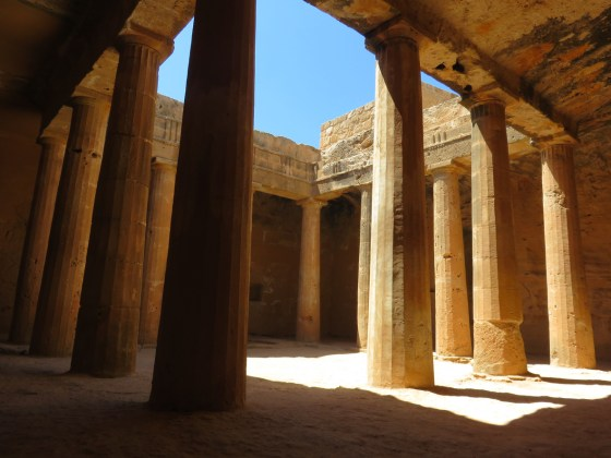 National Day in Cyprus - Tombs of the Kings in Paphos