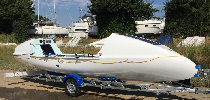 Ocean Rowing Boat Launch