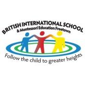 British international school and Montessori Education Freetown