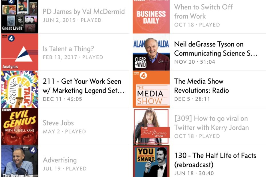 12 Podcasts to inspire comms, PR and marketing pros