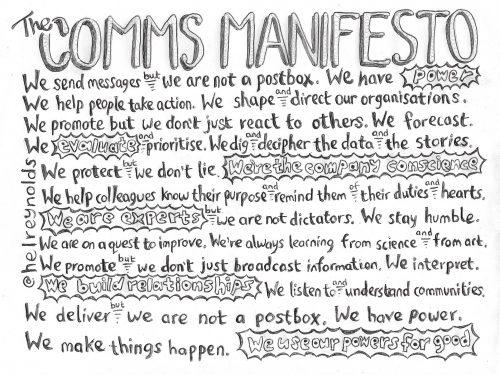 comms manifesto pen